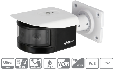 معرفی دوربین بولت ۱۸۰ درجه پانوراما IPC-PFW8601-A180 داهوا