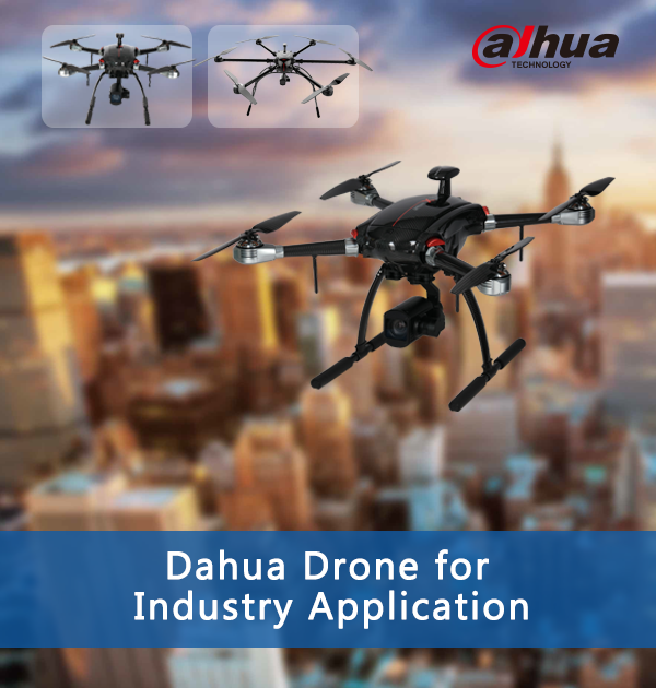 2017 V2 Dahua Drone for Industry Application(4P)