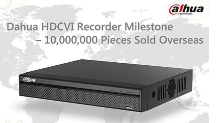 فروش بیش از 10 میلیون دستگاه HDCVI
