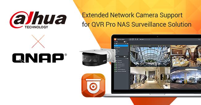 داهوا 88 مدل دیگر از دوربین های تحت شبکه خود را سازگار با نرم افزار QNAP NAS می سازد