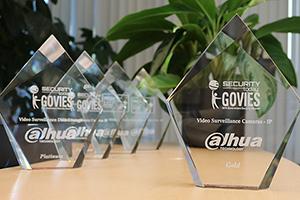 تکنولوژی داهوا برای محصولات امنیتی نمونه خود مفتخر به کسب جایزه Govies شد