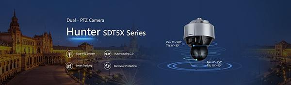 Dahua Technology از دوربین جدید Dual-PTZ  که دارای امکان کنترل پانورامای انعطاف پذیر و چند صحنه می باشد رونمایی نمود